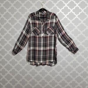 Soho New York & Company plaid shirt